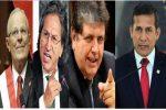Ya son cuatro los presidentes de Perú investigados por corrupción en el caso Lava Jato