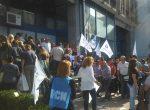 La policía impidió una asamblea de trabajadores de UPCN en el Consejo de Educación