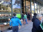 Con retención de servicios y protesta en el Ministerio de Salud, ATE reclama la convocatoria a paritarias