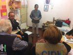 """Expertos de la OEA visitaron a Milagro Sala: """"El Estado debe cumplir las resoluciones de la CIDH"""""""