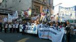 Los docentes bonaerenses pararon, pese a las amenazas de descuentos