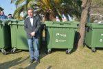 El Intendente encabezó el acto de entrega de nuevos contenedores
