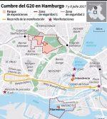 Habrá tolerancia cero frente a los disturbios en el G20 en Hamburgo