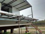 Avanza la construcción del Aula Taller Móvil Flotante