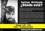 Reclamarán en Paraná por la aparición con vida de Santiago Maldonado