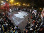 Una importante movilización atravesó a Paraná por Santiago Maldonado