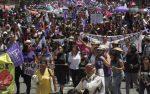 México: miles de mujeres marcharon en 11 estados contra la violencia de género