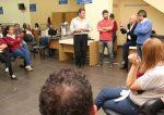 Trabajadores municipales de Paraná realizan retención de servicios