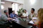 Acunate: Kueider recibió a una delegación de ATE