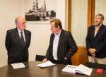 El intendente Sergio Varisco oficializó el primer cambio en su Gabinete