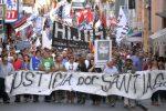 Paraná marchó exigiendo Justicia por Santiago Maldonado