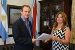 Claudia Gieco asumió en el Instituto Becario de Entre Ríos
