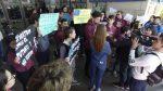 Realizaron un carpetazo en la terminal de Paraná por el boleto estudiantil