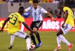 Argentina igualó con Colombia