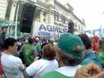 Paraná: una movilización multisectorial marchó contra el presupuesto nacional