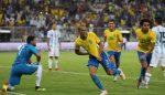 La Selección perdió en tiempo de descuento ante Brasil