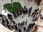 Asamblea de UPCN en reclamo de los contratados de obra
