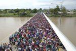 La Caminata del Migrante ya se encuentra en México