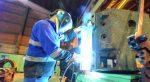 El uso de la capacidad instalada en la industria continúa en caída