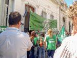 ATE se manifestó en la Secretaría de Trabajo y reclamó la reapertura paritaria