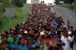 Las caravanas migrantes siguen avanzando hacia Estados Unidos