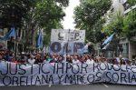 Marcharon en Buenos Aires por justicia para Rodolfo Orellana y Marcos Soria