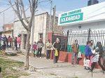 Trabajo solidario en el Centro Comunitario del Barrio Belgrano