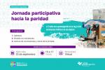 Red para la Igualdad invita a la «Jornada Participativa hacia la Paridad»