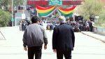 Evo Morales volvió a Bolivia