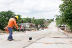 Bordet y Bahl supervisaron los trabajos en calle Francia