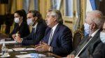 El Presidente se reúne en forma virtual con los gobernadores