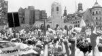 Vuelta a la democracia y día internacional de los Derechos Humanos