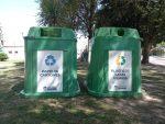 Paraná promueve el uso de contenedores para recolectar materiales reciclables