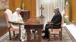 El papa Francisco recibió a Alberto Fernández en el Vaticano