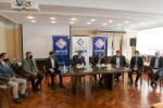 Bahl firmó un convenio con IAPSER para mejorar la cobertura de los trabajadores municipales