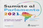 Invitan a ser parte del Parlamento Juvenil Mercosur 2021