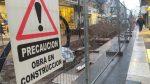 Cortes de calles y cambios en recorridos de colectivos por obras en la peatonal de Paraná