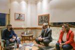 Bahl se reunió con el ministro de Desarrollo Social de la Nación