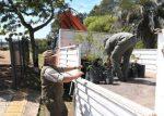 La Comisión Administradora del Río Uruguay donó árboles nativos al Parque San Carlos de Concordia